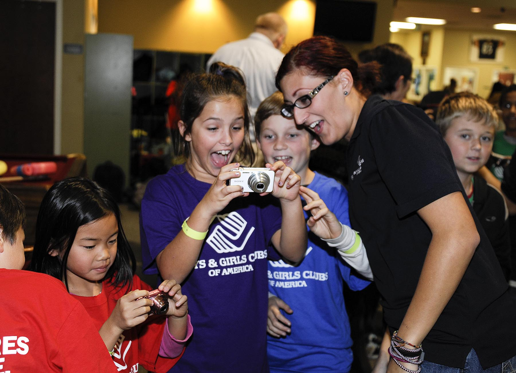 BGCA and Sony Electronics at Boys & Girls Clubs of San Dieguito
